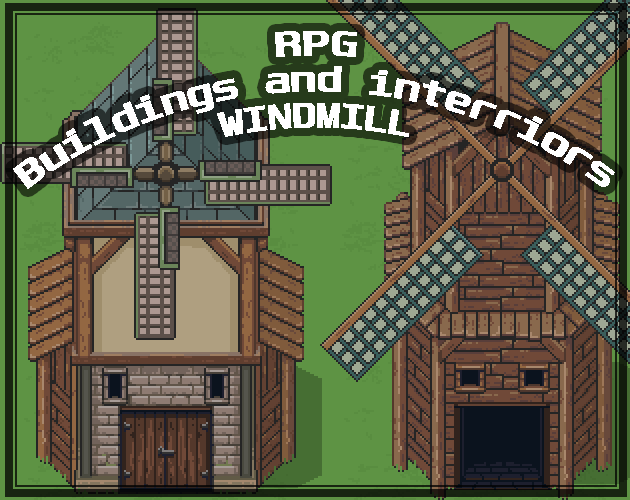 RPG Buildings and Interriors WINDMILL