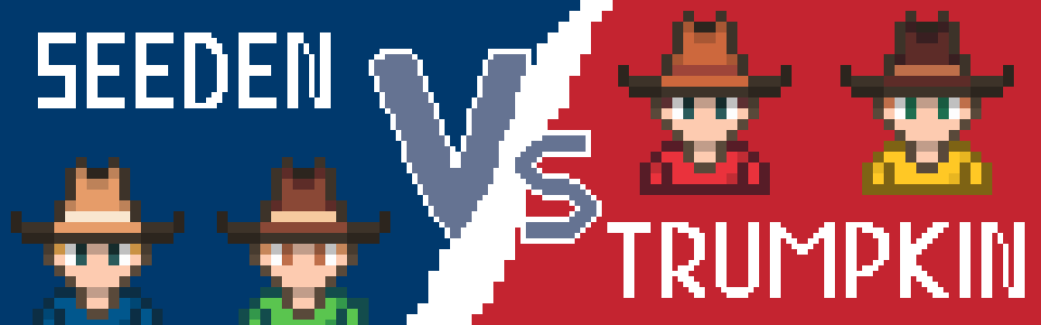 Seeden vs Trumpkins : Every Pumpkin Counts