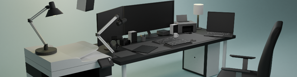 Office low poly pack