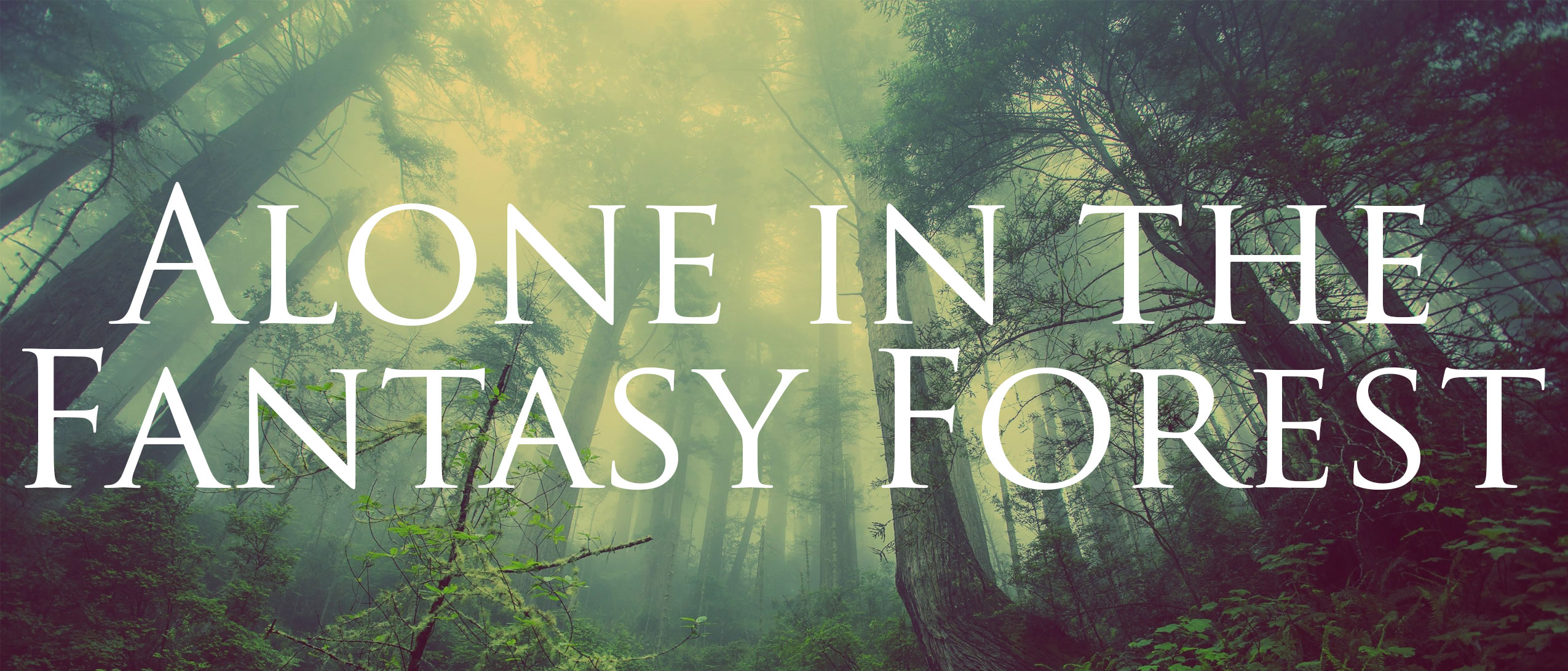 Alone in the Fantasy Forest