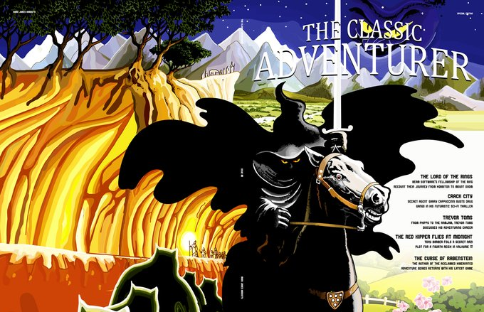 Classic Adventurer - Special Edition - physical copy (donated by Mark Hardisty)
