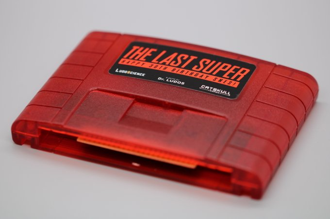The Last Super SNES cartridge