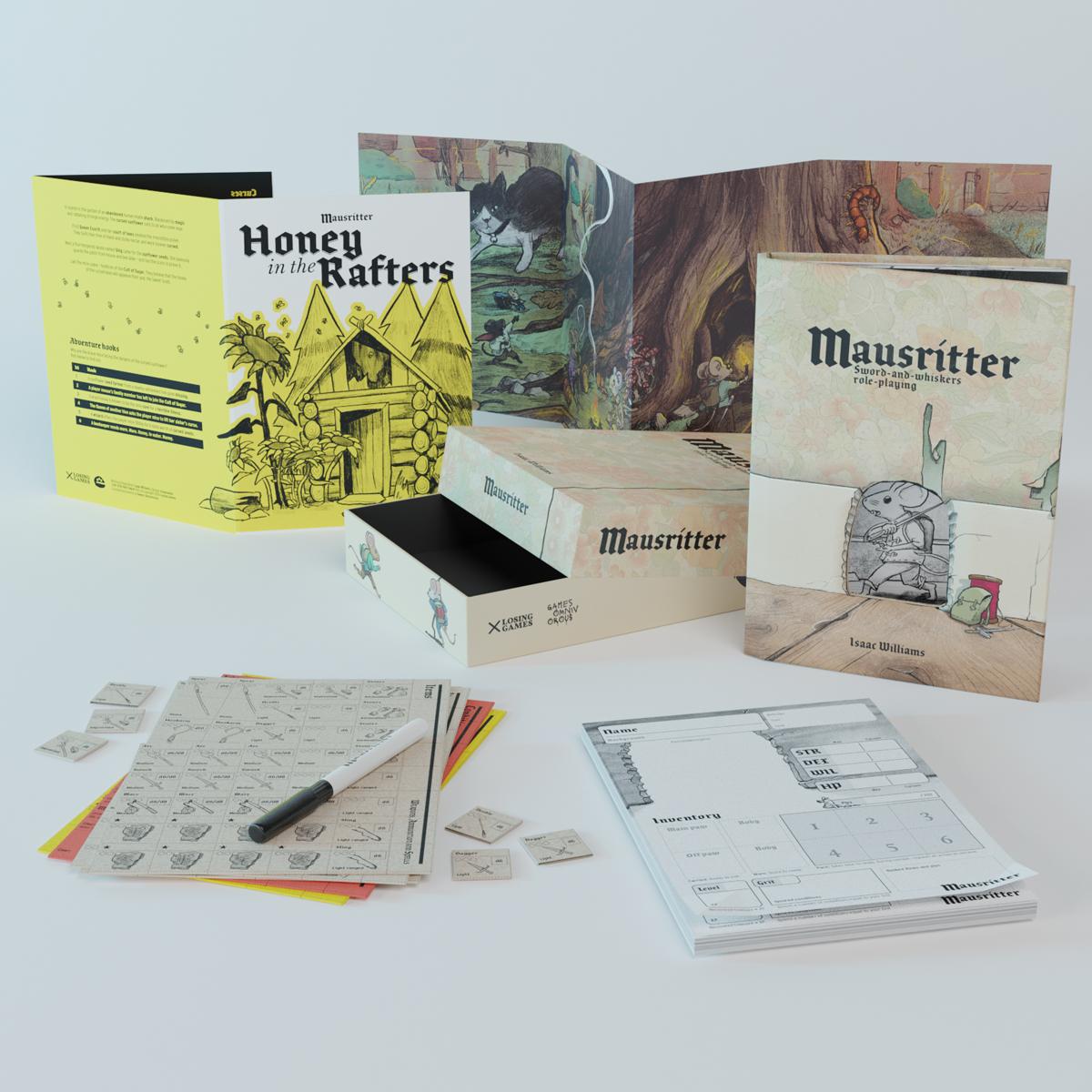 Mausritter box set