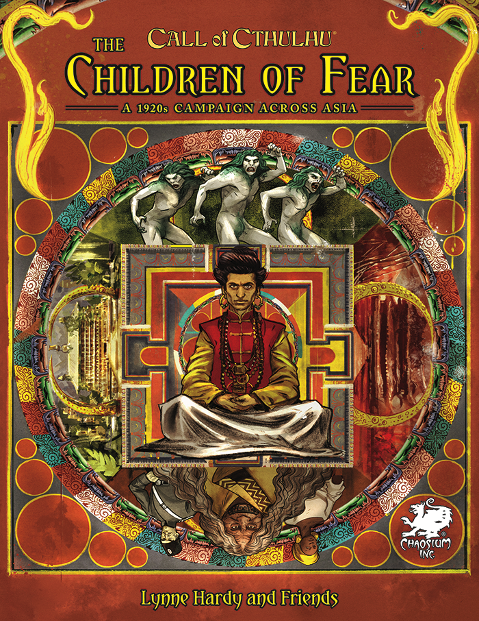 The Children of Fear front cover