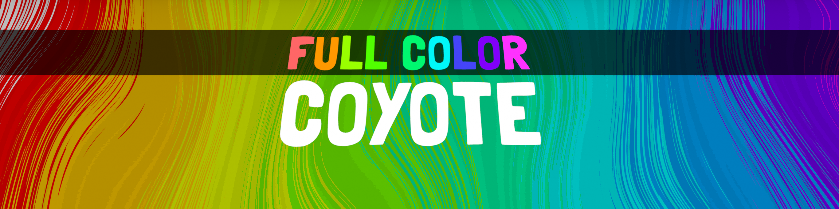 Full Color Coyote