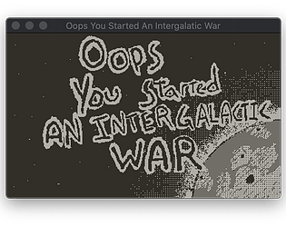 Oops You Started An Intergalactic War