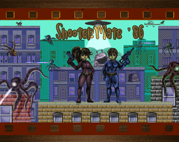 ShooterMate Title Screen
