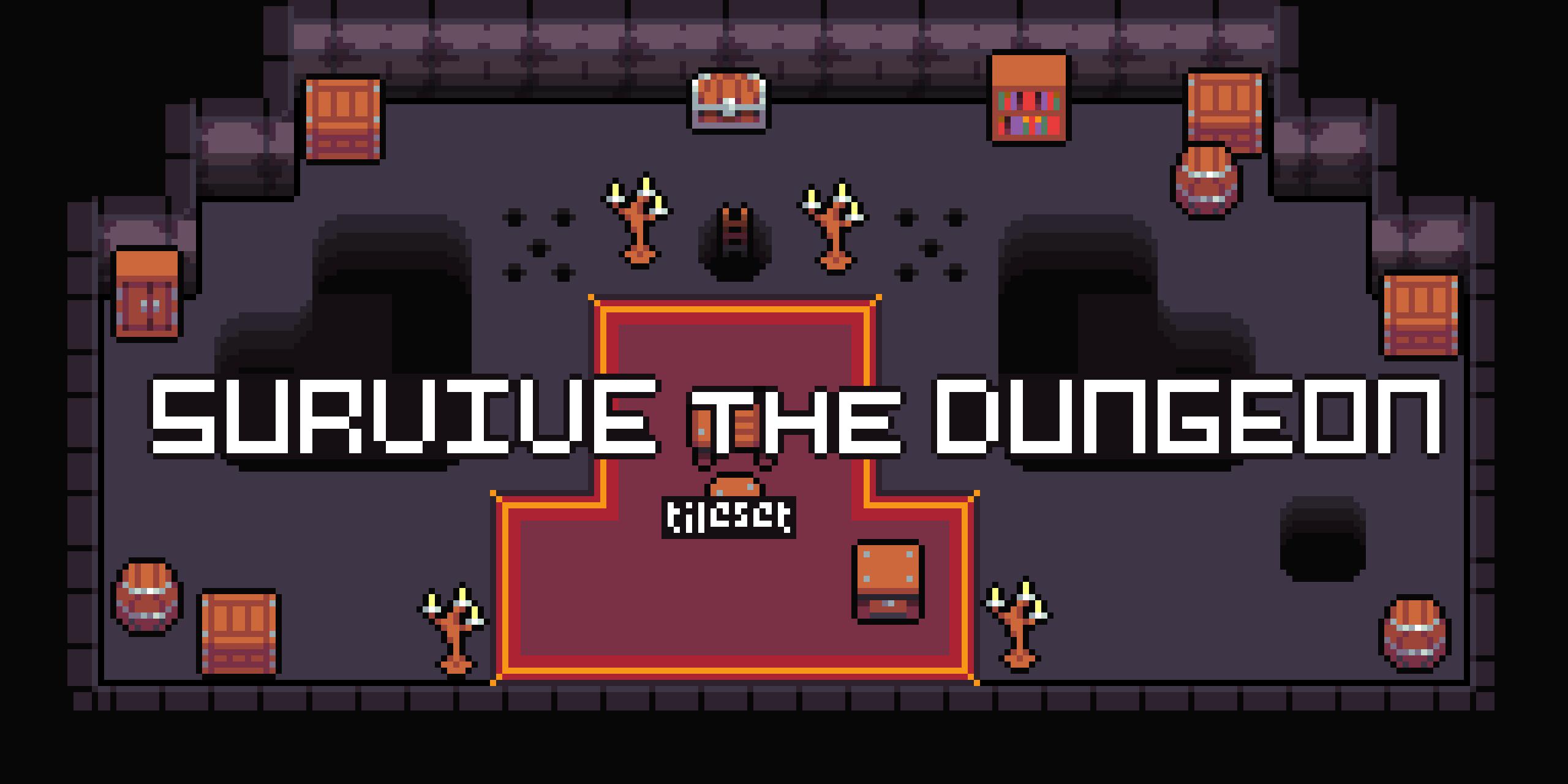 survive the dungeon tileset