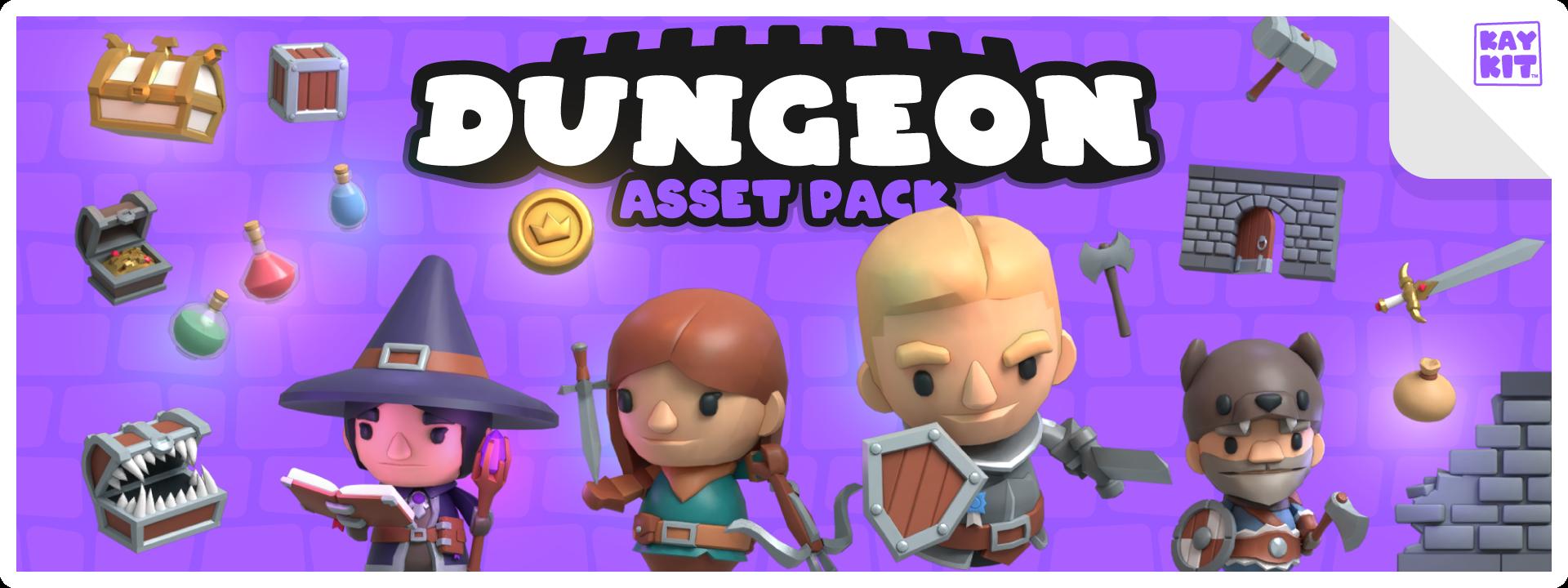 KayKit - Dungeon Pack