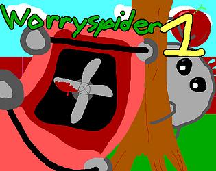 Worryspider in: The Garden