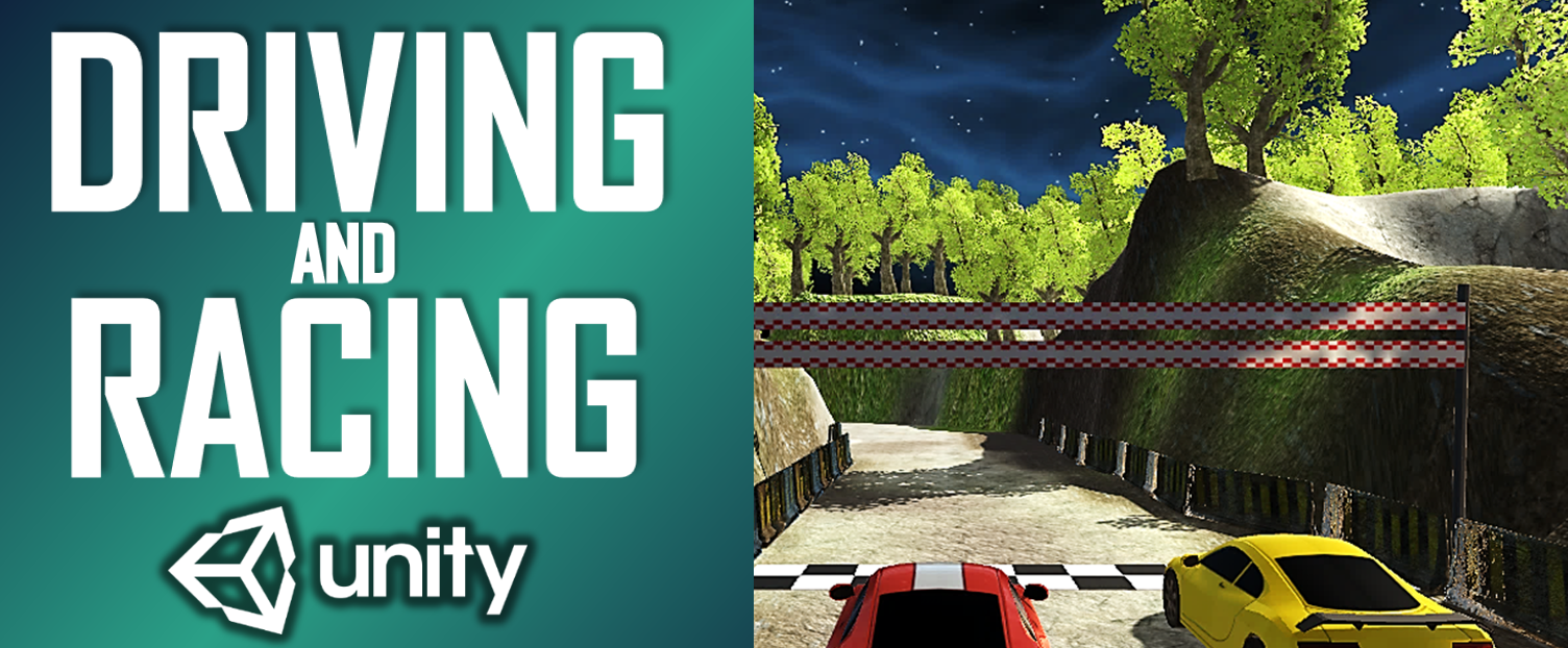 Driving & Racing Game Unity Project Source Code