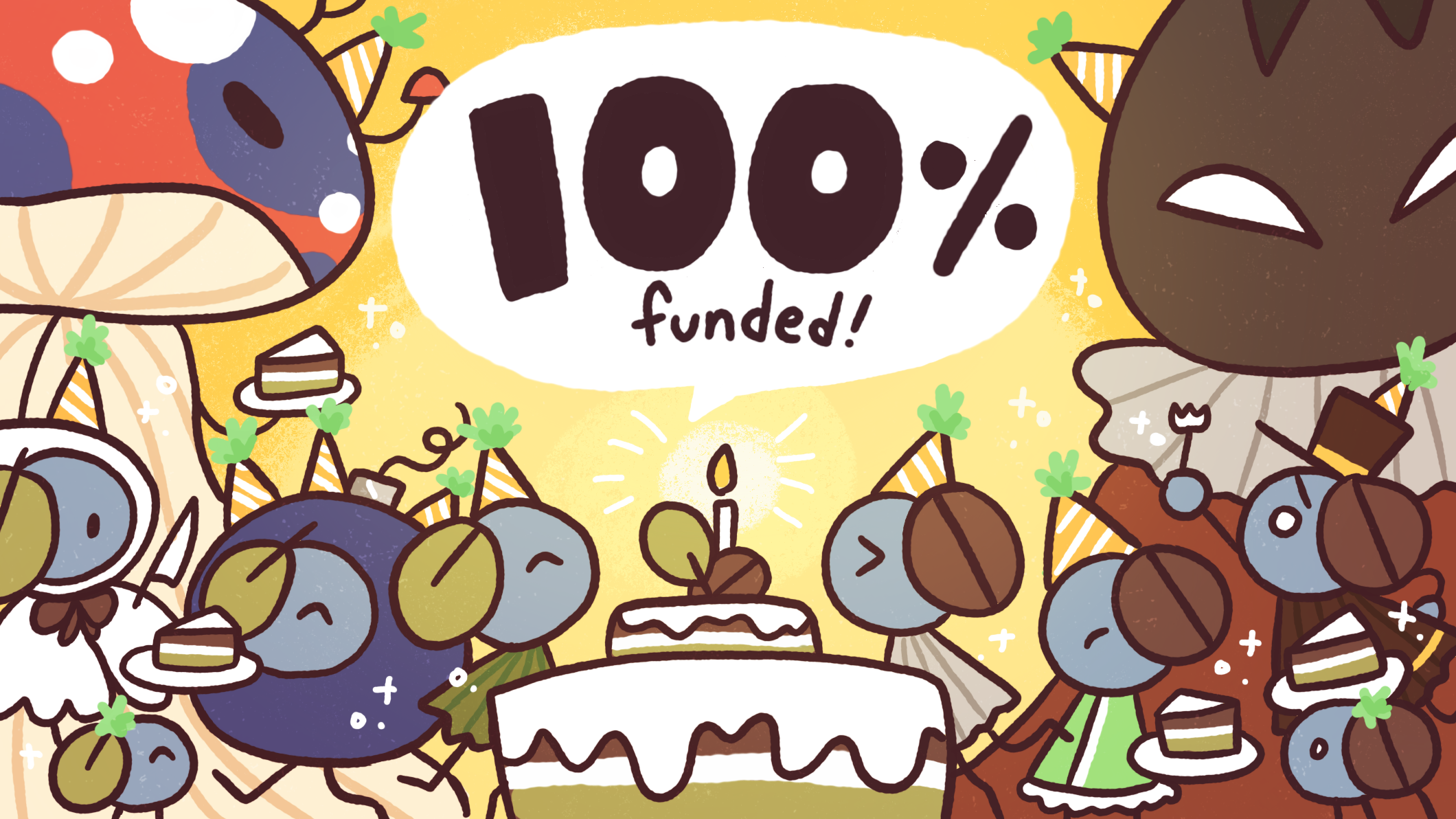 100% Funded