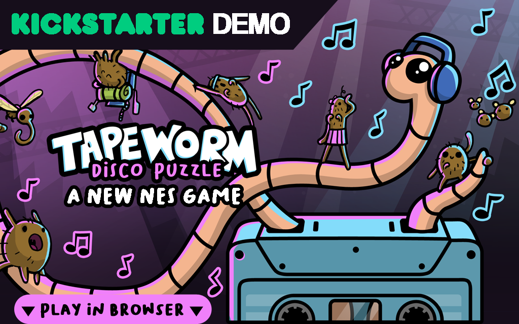 Tapeworm Disco Puzzle Demo