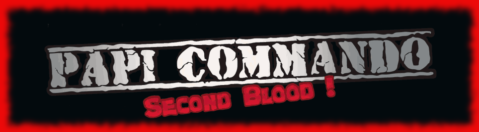 Papi Commando Second Blood *Megadrive* Official DEMO