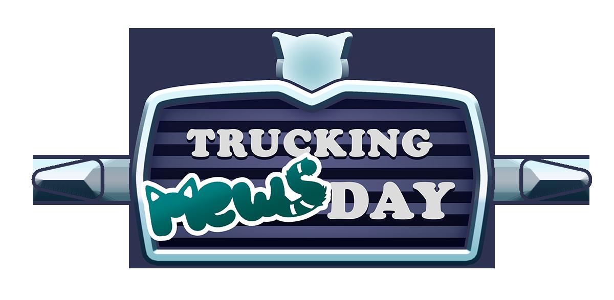 Trucking Mewsday #jinglecats2020