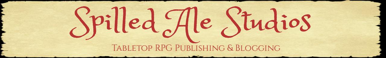 Spilled Ale Studios Blog