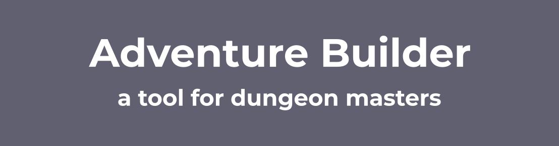 Adventure Builder
