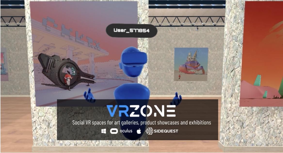 VRzone - Social VR Art Galleries & Showrooms