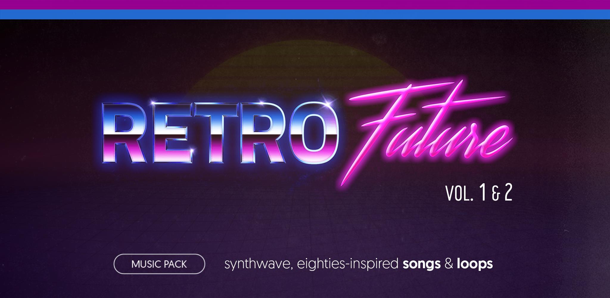 Retro Future Complete (vol. 1 & 2) - music pack