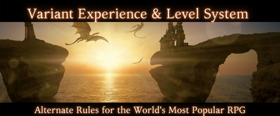 Variant Experience and Leveling System