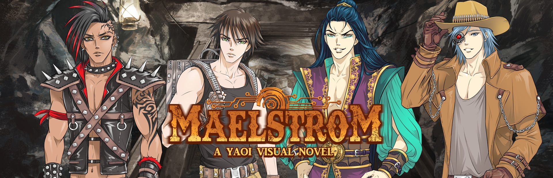 Maelstrom: A Yaoi Visual Novel Demo
