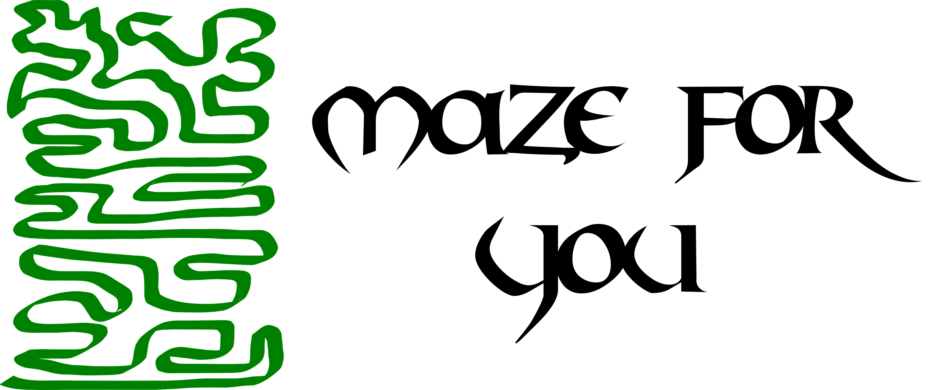 Maze for You
