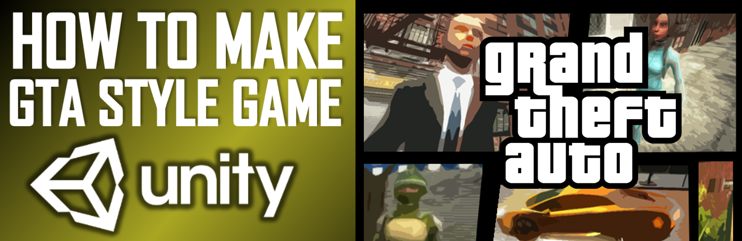 Grand Theft Auto Game Unity Project Source Code