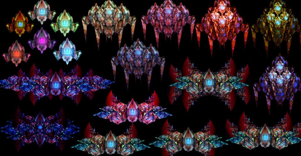 Mutant Spaceship [150+ Items]