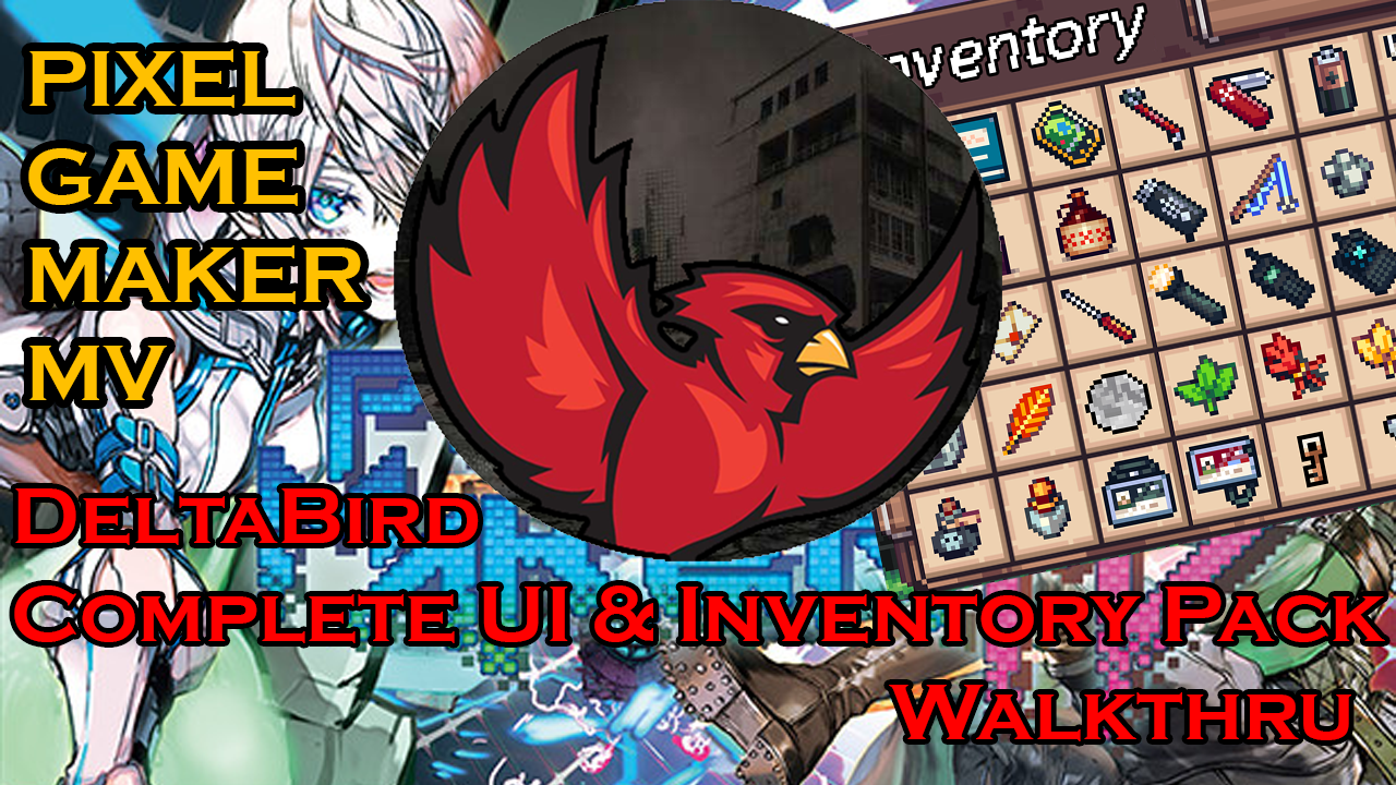 Complete Inventory & UI System FREE - Pixel Game Maker MV