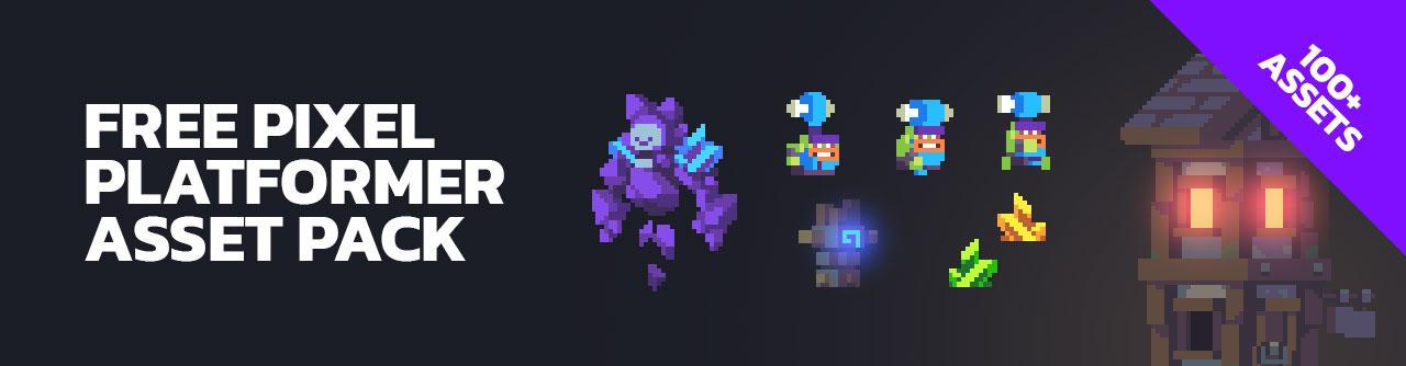 Free Platformer Pixel Art Assets