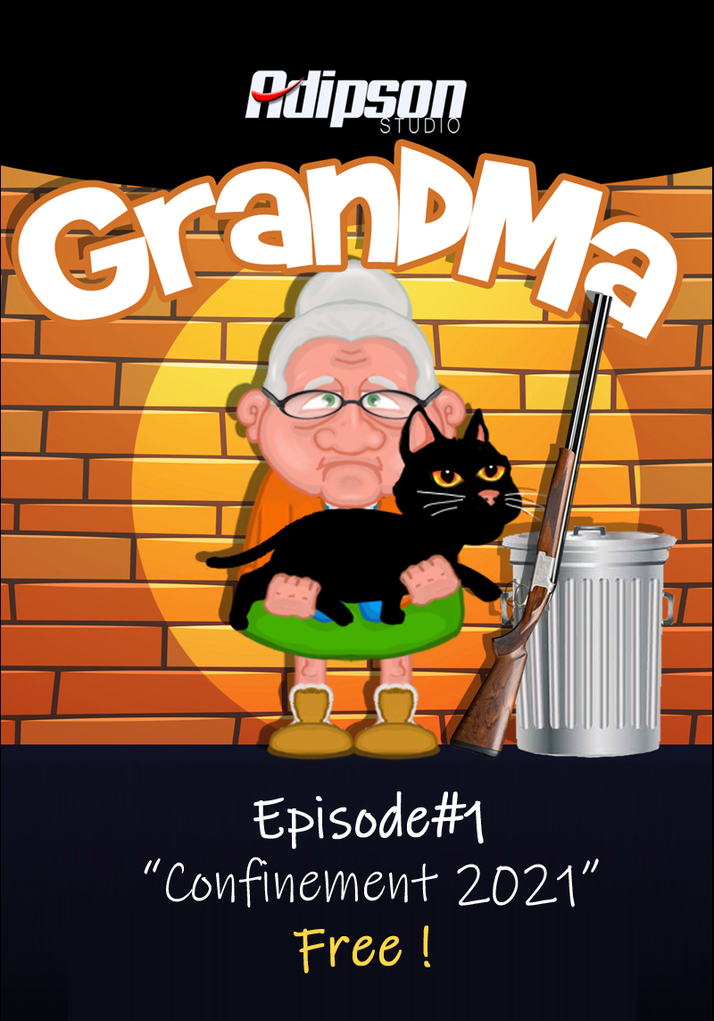 GRANDMA, épisode 1 'confinement 2021' disponible ! OiLw6f