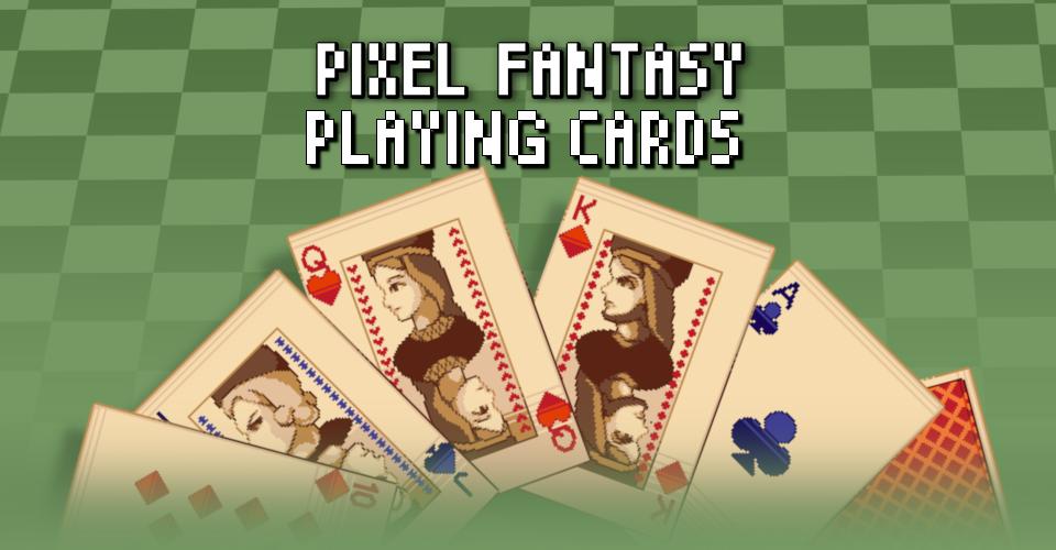 PIXEL FANTASY PLAYING CARDS