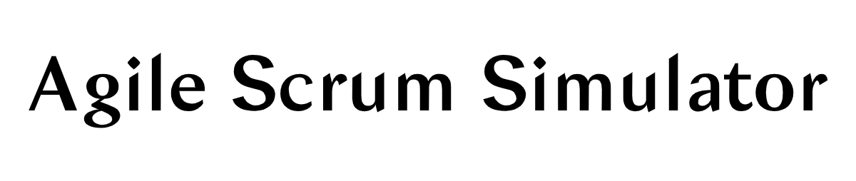 Agile Scrum Simulator