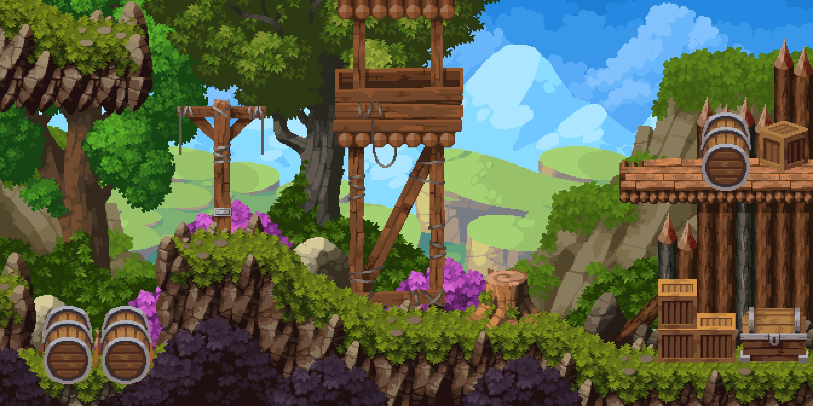 Hero's Journey - Wood Camp