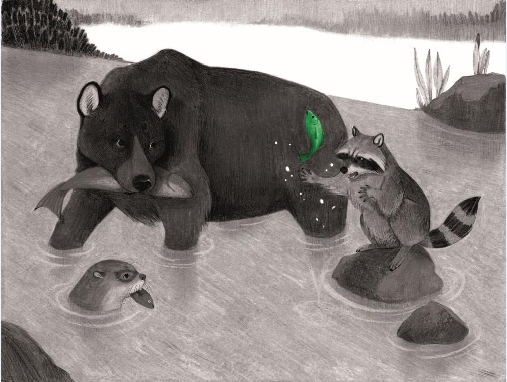 Beasts communing