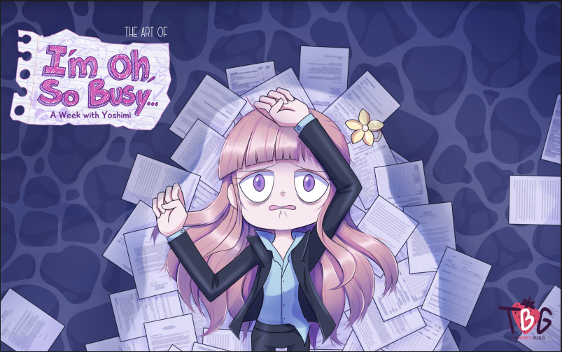 The Art of I'm Oh, So Busy - Artbook & Wallpapers