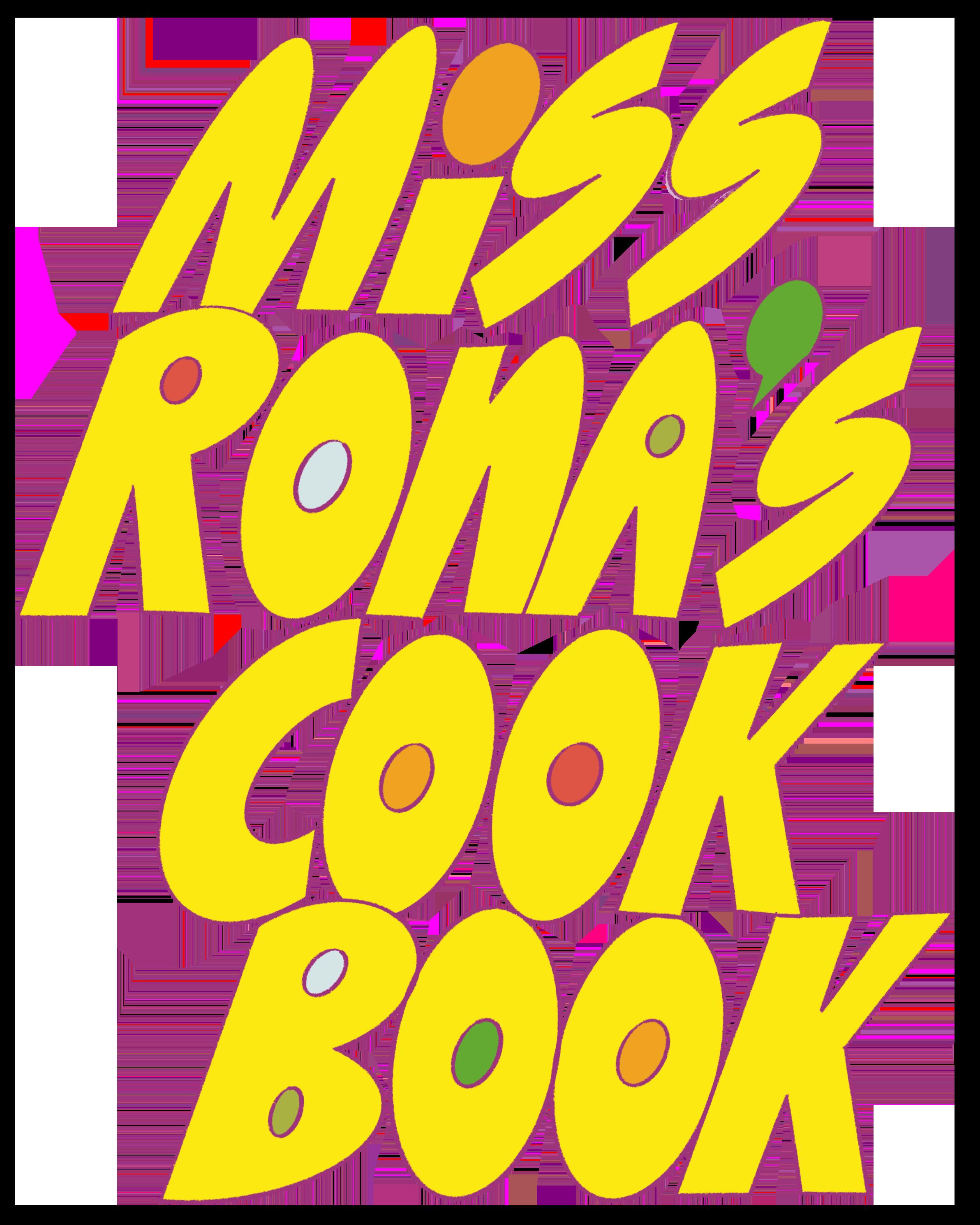 Miss Rona's Cookbook