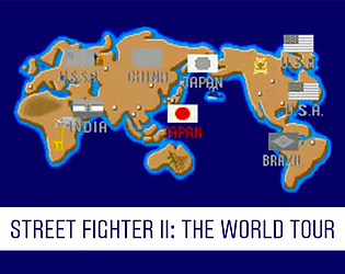 Street Fighter II: The World Tour