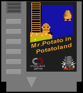 Mr.Potato in Potatoland - NES Version