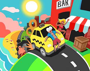 Psycho Taxi - Rewind [Free] [Racing] [Windows]