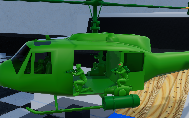 Updated Chopper Huey Model