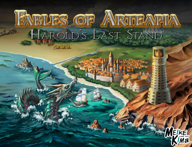 Fables of Arteapia: Harold's Last Stand
