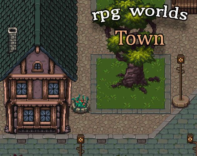 RPG Worlds Town