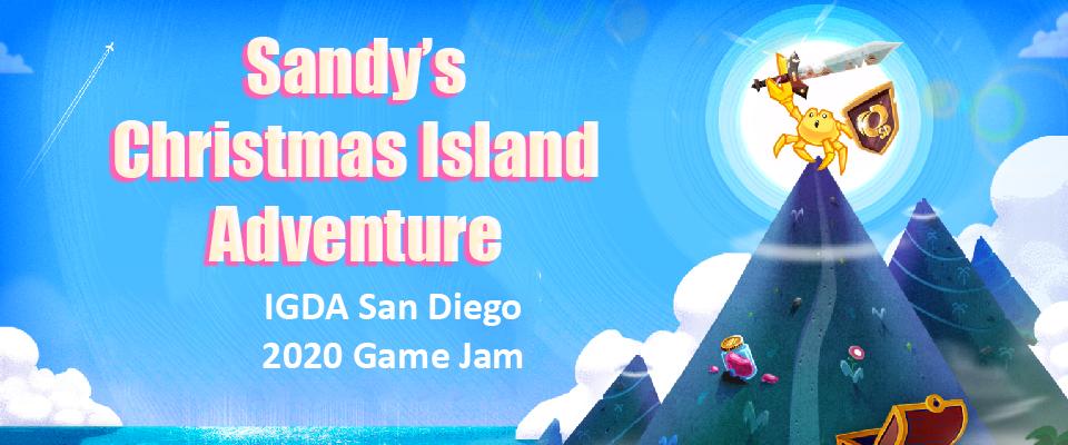 Sandy's Christmas Island Adventure