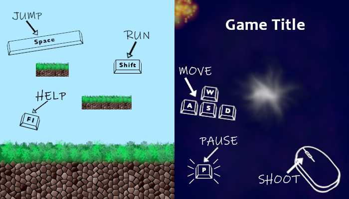 Game Controls Visualization Pack