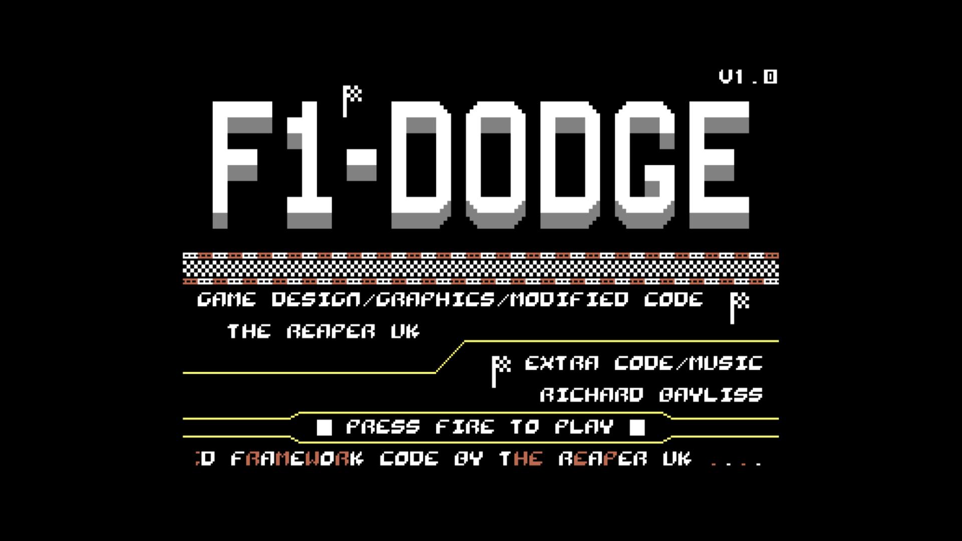F1-Dodge (C64)