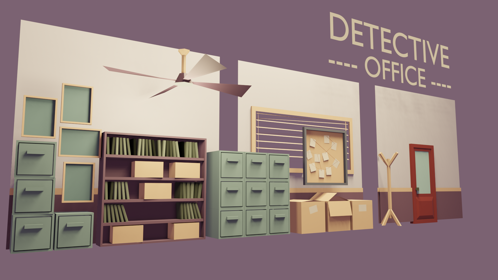 Detective Office assets
