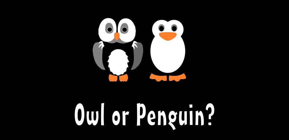 Owl or Penguin?