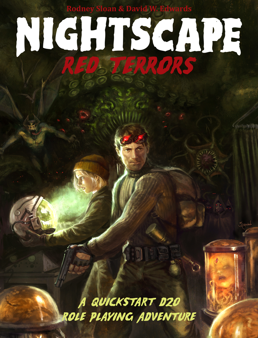 Nightscape: Red Terrors Cover