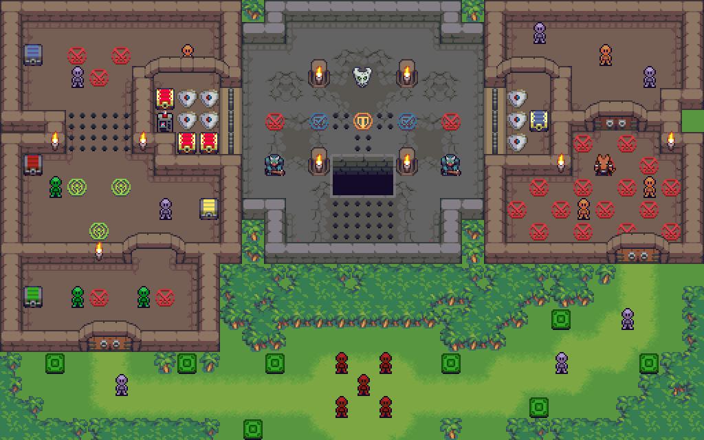 Solo Jungle Fortress Map
